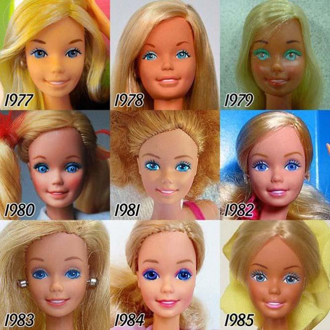 Η εξέλιξη της Barbie με το πέρασμα των χρόνων (3)