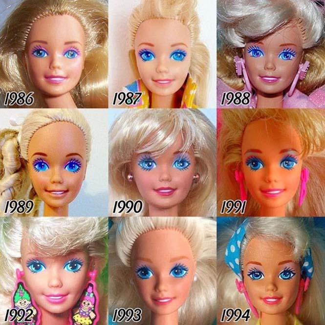 Η εξέλιξη της Barbie με το πέρασμα των χρόνων (4)