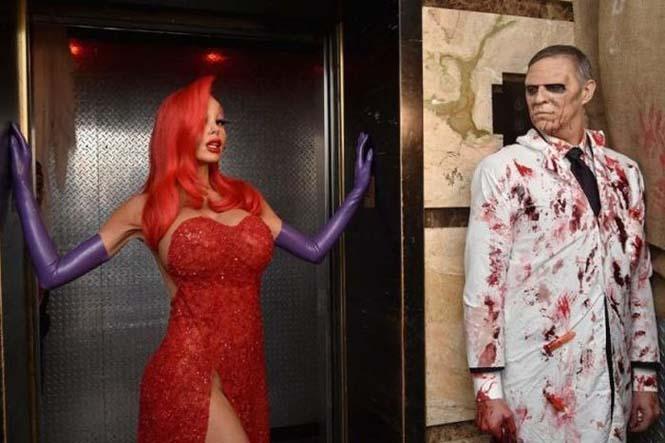 Η Heidi Klum έκλεψε τις εντυπώσεις με την φετινή της μεταμφίεση για το Halloween (7)