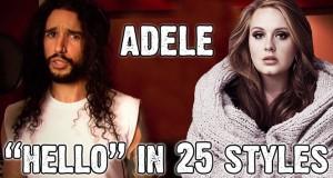 Το Hello της Adele με 25 διαφορετικά στυλ (Video)
