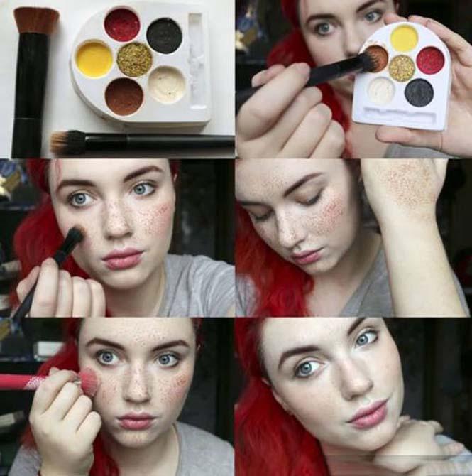 Αυτή η κοπέλα φιλοδοξεί να κάνει τις φακίδες τάση της μόδας (11)