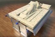 Κρεβάτι για προστασία από σεισμό