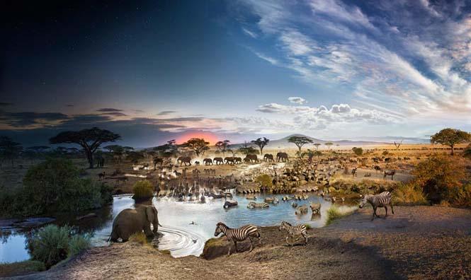 Φωτογράφος απαθανατίζει μέρα και νύχτα στην ίδια φωτογραφία (1)