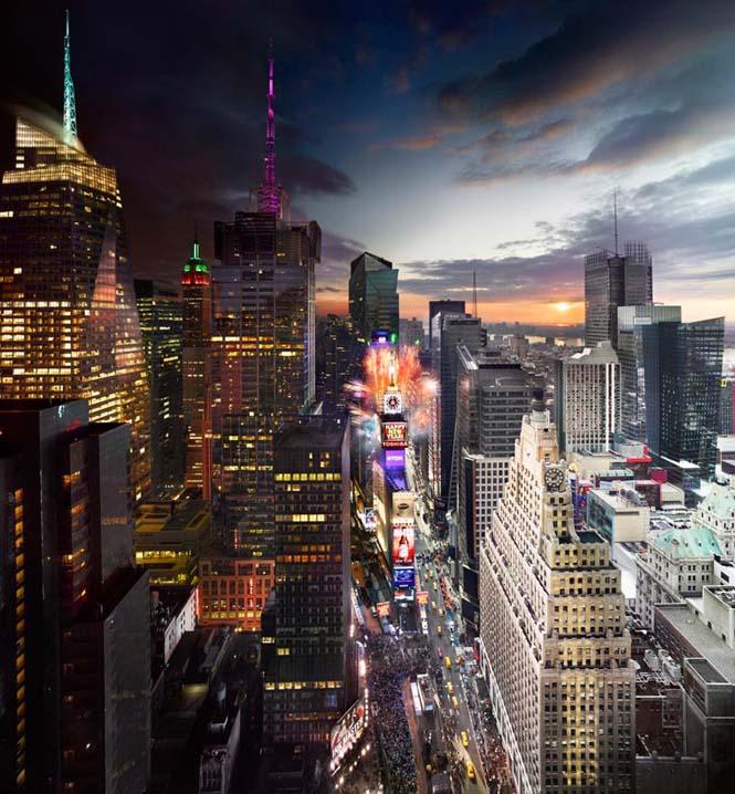 Φωτογράφος απαθανατίζει μέρα και νύχτα στην ίδια φωτογραφία (4)