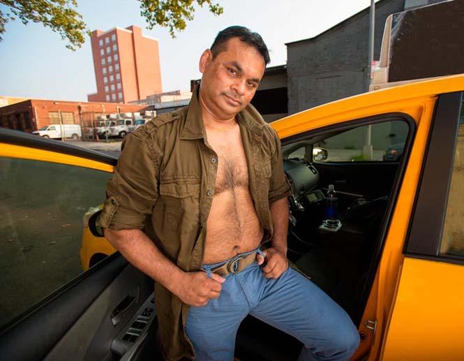 Οι πιο «καυτοί» ταξιτζήδες της Νέας Υόρκης φωτογραφίζονται για καλό σκοπό (1)