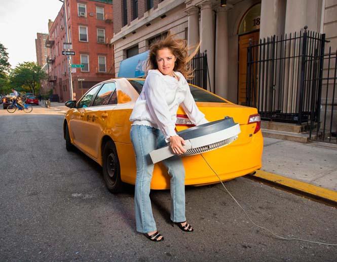 Οι πιο «καυτοί» ταξιτζήδες της Νέας Υόρκης φωτογραφίζονται για καλό σκοπό (2)