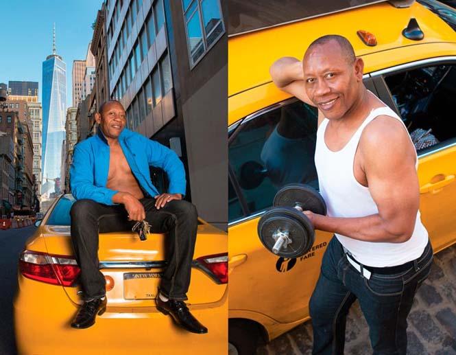 Οι πιο «καυτοί» ταξιτζήδες της Νέας Υόρκης φωτογραφίζονται για καλό σκοπό (5)