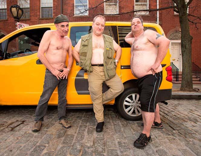 Οι πιο «καυτοί» ταξιτζήδες της Νέας Υόρκης φωτογραφίζονται για καλό σκοπό (6)