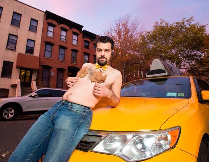 Οι πιο «καυτοί» ταξιτζήδες της Νέας Υόρκης φωτογραφίζονται για καλό σκοπό (9)