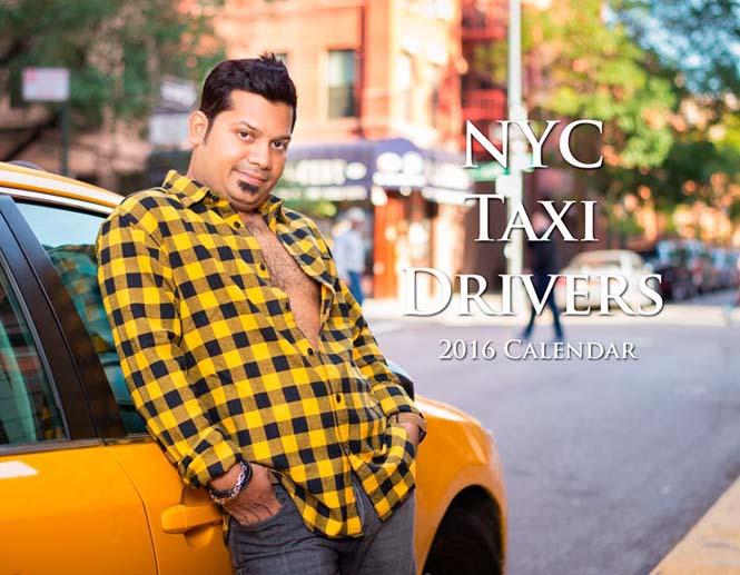 Οι πιο «καυτοί» ταξιτζήδες της Νέας Υόρκης φωτογραφίζονται για καλό σκοπό (10)