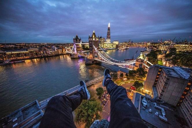 Rooftopping με θέα το Λονδίνο | Φωτογραφία της ημέρας