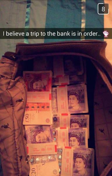 Τα πλουσιόπαιδα του Snapchat δεν χάνουν ευκαιρία να κάνουν επίδειξη του πλούτου τους (5)