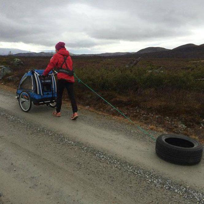 Η αθλήτρια Tora Berger έγινε πρόσφατα μητέρα αλλά δεν σκοπεύει να αφήσει χαμένο έδαφος (2)