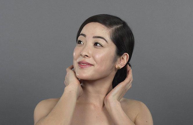100 χρόνια Κινέζικης ομορφιάς σε 1 λεπτό