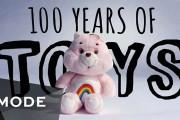 100 χρόνια χριστουγεννιάτικων παιχνιδιών σε 2,5 λεπτά