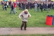 83χρονος χορεύει σε φεστιβάλ ηλεκτρονικής μουσικής στην Ολλανδία