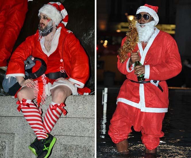 Άγιος Βασίλης και βρετανικό ξεφάντωμα (4)