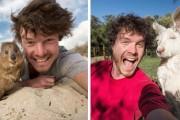 Ο Allan Dixon ειδικεύεται στις αστείες selfies με ζώα (1)