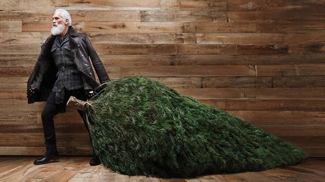 Αν ο Άγιος Βασίλης ήταν ένας μοδάτος κύριος του σήμερα (2)