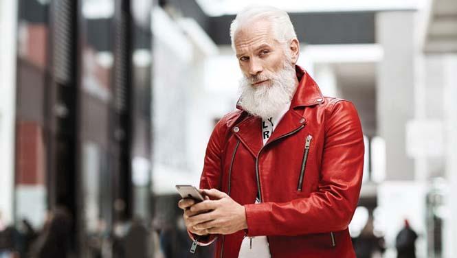 Αν ο Άγιος Βασίλης ήταν ένας μοδάτος κύριος του σήμερα (3)