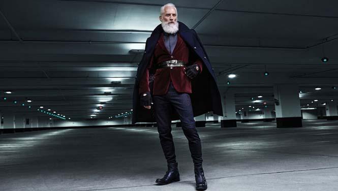 Αν ο Άγιος Βασίλης ήταν ένας μοδάτος κύριος του σήμερα (4)