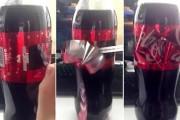 Απίθανη έκπληξη σε μπουκάλι Coca Cola