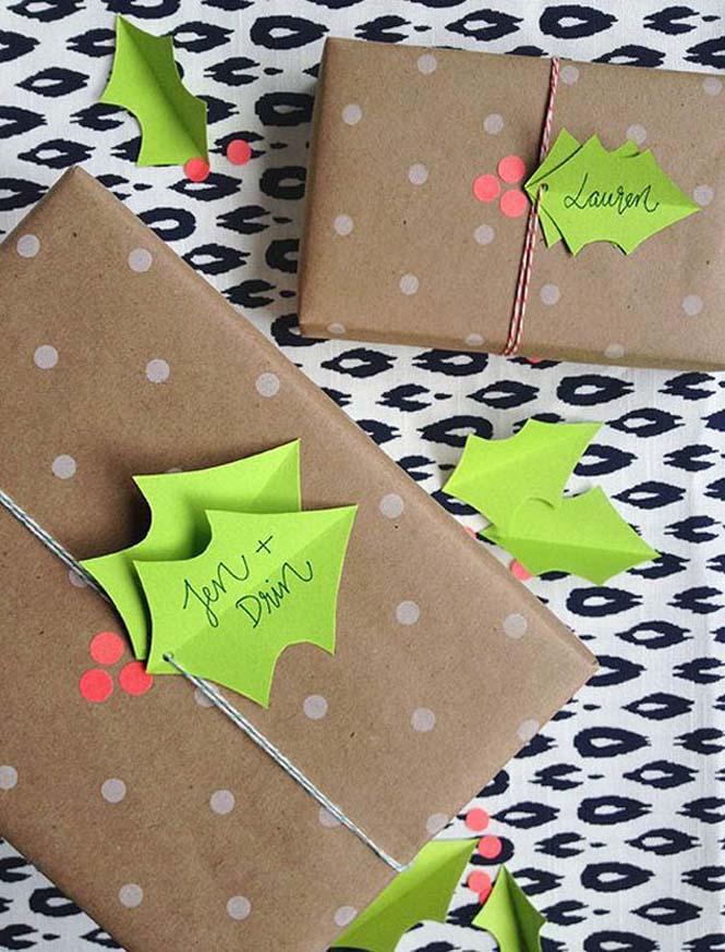 Δημιουργικές ιδέες για περιτύλιγμα δώρων (7)