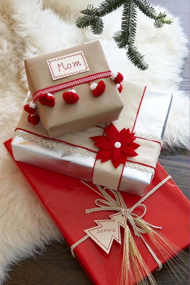 Δημιουργικές ιδέες για περιτύλιγμα δώρων (10)