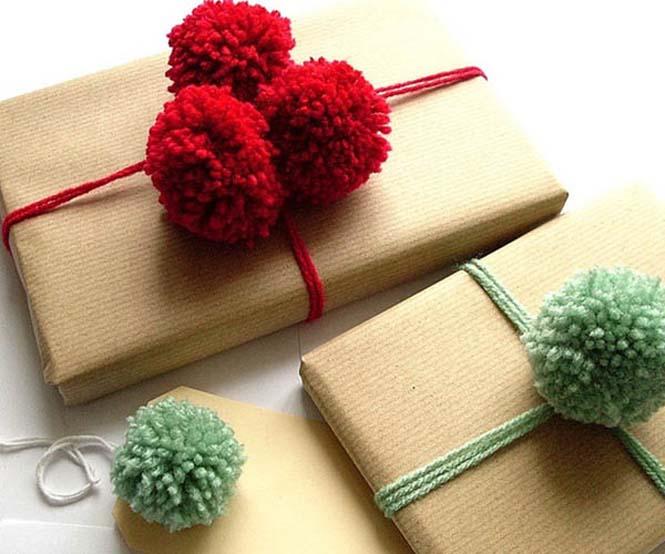Δημιουργικές ιδέες για περιτύλιγμα δώρων (12)