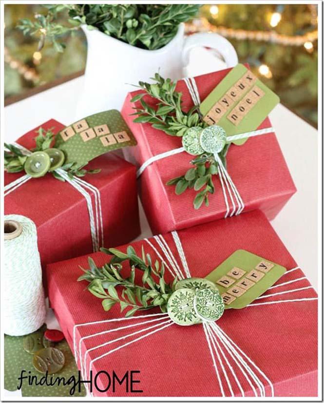 Δημιουργικές ιδέες για περιτύλιγμα δώρων (22)