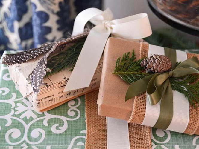 Δημιουργικές ιδέες για περιτύλιγμα δώρων (33)