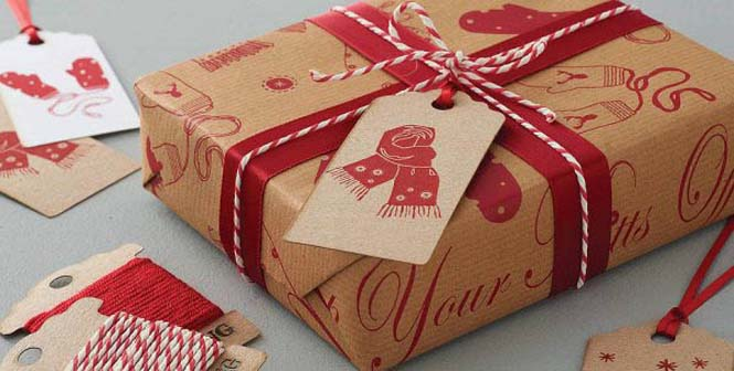 Δημιουργικές ιδέες για περιτύλιγμα δώρων (40)