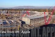 Drone καταγράφει την πορεία της κατασκευής των νέων γραφείων της Apple που θυμίζουν διαστημόπλοιο