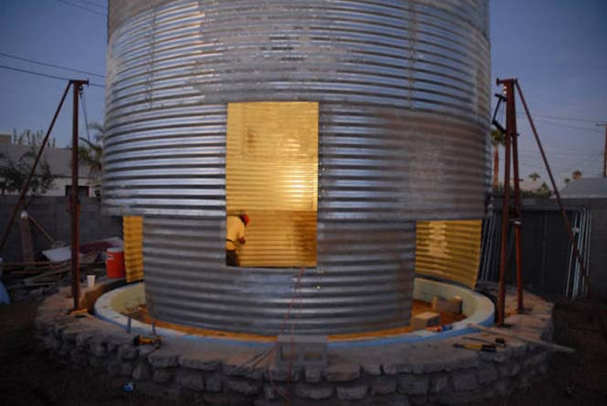 Εφευρετικός αρχιτέκτονας μετέτρεψε σιλό σιταριού σε σπίτι (2)