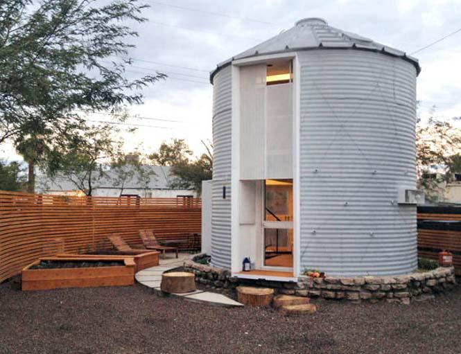 Εφευρετικός αρχιτέκτονας μετέτρεψε σιλό σιταριού σε σπίτι (4)