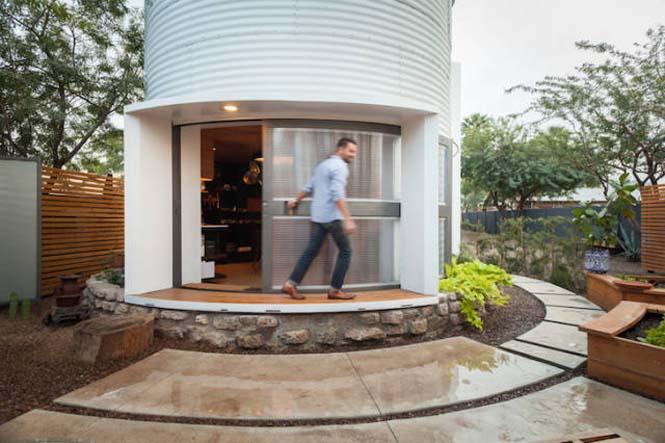 Εφευρετικός αρχιτέκτονας μετέτρεψε σιλό σιταριού σε σπίτι (6)