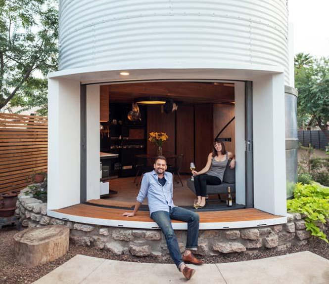 Εφευρετικός αρχιτέκτονας μετέτρεψε σιλό σιταριού σε σπίτι (7)