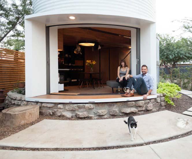 Εφευρετικός αρχιτέκτονας μετέτρεψε σιλό σιταριού σε σπίτι (8)