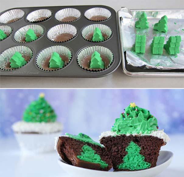 Εκπληκτικά χριστουγεννιάτικα cupcakes (2)