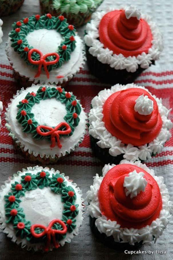 Εκπληκτικά χριστουγεννιάτικα cupcakes (4)