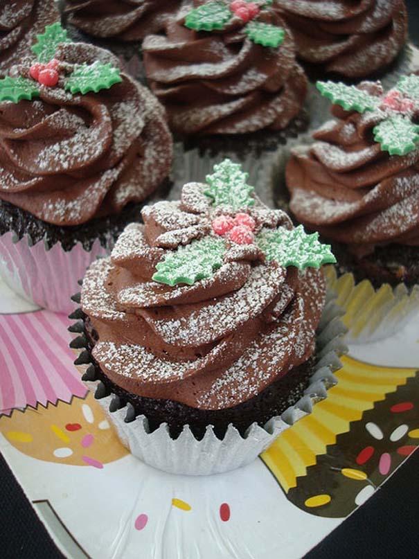 Εκπληκτικά χριστουγεννιάτικα cupcakes (6)
