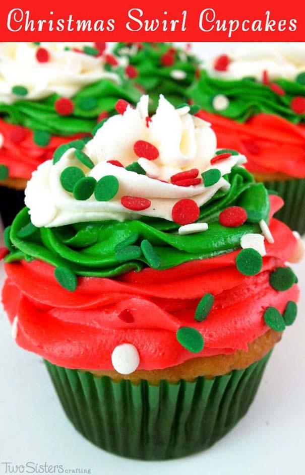 Εκπληκτικά χριστουγεννιάτικα cupcakes (14)