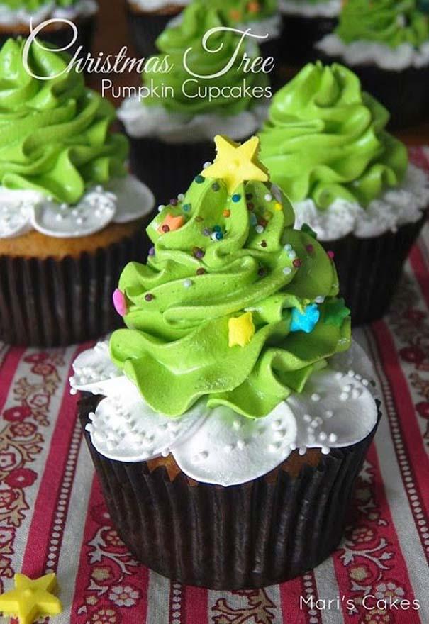 Εκπληκτικά χριστουγεννιάτικα cupcakes (16)