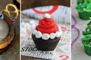 Εκπληκτικά χριστουγεννιάτικα cupcakes
