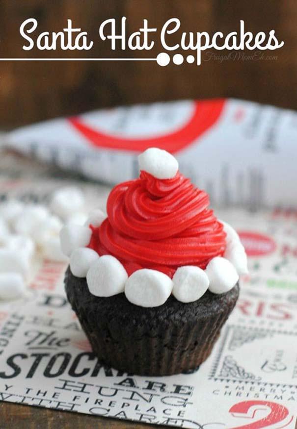 Εκπληκτικά χριστουγεννιάτικα cupcakes (27)