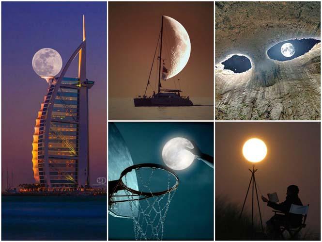 Φωτογραφίες με το Φεγγάρι που τραβήχτηκαν την κατάλληλη στιγμή (1)