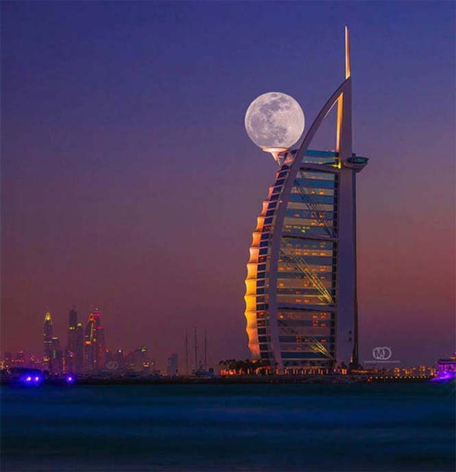 Φωτογραφίες με το Φεγγάρι που τραβήχτηκαν την κατάλληλη στιγμή (2)