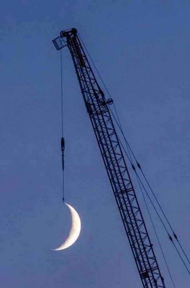 Φωτογραφίες με το Φεγγάρι που τραβήχτηκαν την κατάλληλη στιγμή (5)