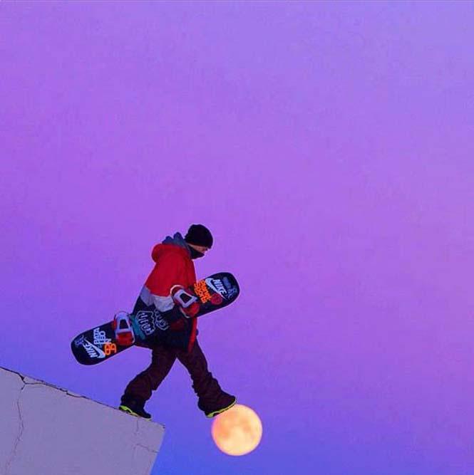 Φωτογραφίες με το Φεγγάρι που τραβήχτηκαν την κατάλληλη στιγμή (7)