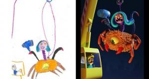 Καλλιτέχνες «δίνουν ζωή» σε παιδικές ζωγραφιές τεράτων